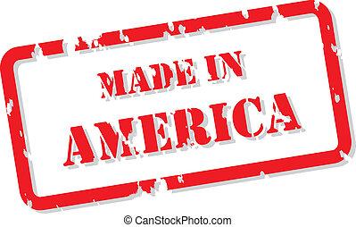 frimærke, amerika