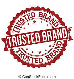 frimærke, varemærke, trusted