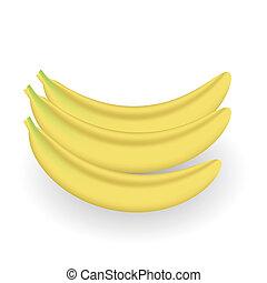 frisk, bananer