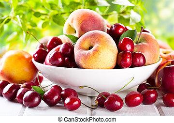 friske frugter