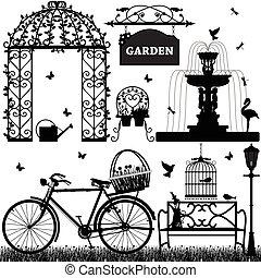 fritids, park, have