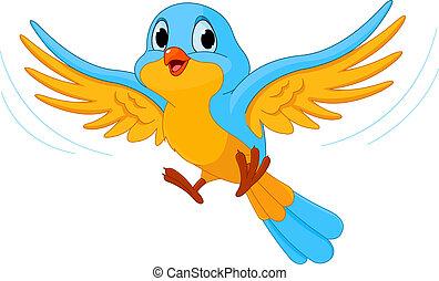 fugl flyve
