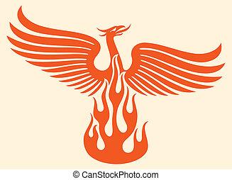 fugl, phoenix