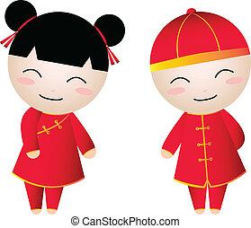girl-boy, kinesisk