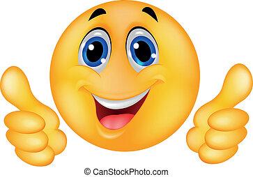 glad ansigt, smiley, emoticon