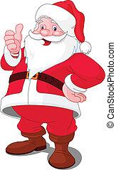 glad christmas, santa