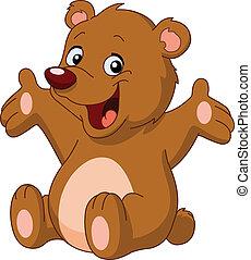 glade, bjørn, teddy