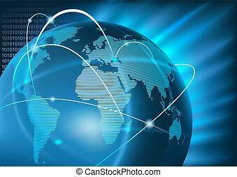global branche, internet