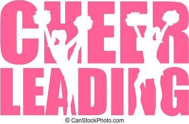 glose, cheerleading, cutout