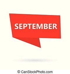glose, september, boble, speach