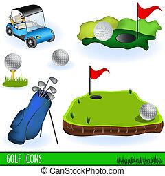 golf, iconerne