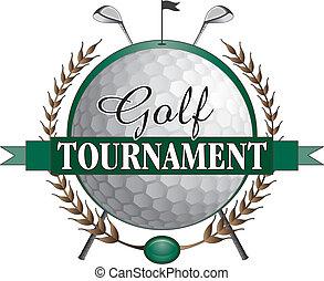golf klub, turnering, konstruktion