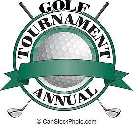 golf, turnering, konstruktion