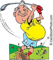 golfer, gamle