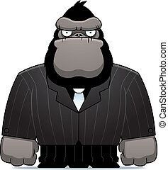 gorilla, tøjsæt