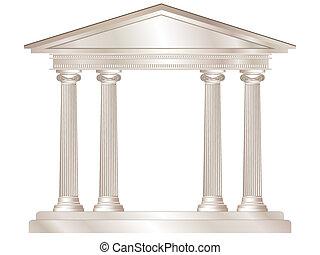 græsk, tempel