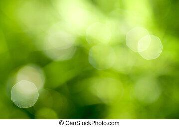 grønnes abstrakte, backgound, naturlig