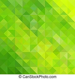 grønnes abstrakte, trekant, baggrund