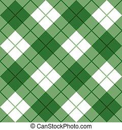 grønnes hvide, plaid, bias