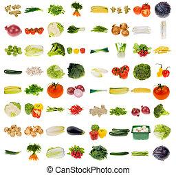 grønsag, samling, uhyre