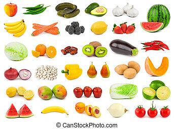 grønsager, frugter