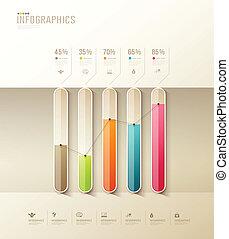 graph, sundhed, infographic, konstruktion