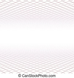 grid, perspektiv, surface.