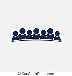 gruppe, folk, personer, teamwork, 7, venskab, eller