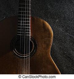 guitar, liv, endnu