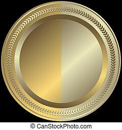 gylden, sølvlignende, (vector), beklæde