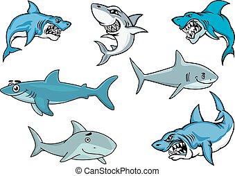 hajer, udtryk, adskillige, cartoon