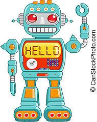 hallo, robot