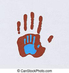 hands., hjælper
