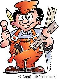handyman, snedker