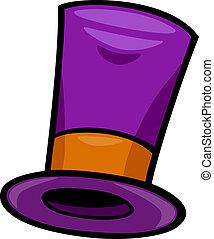 hat, clips kunst, cartoon, illustration