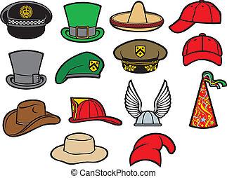 hatte, samling