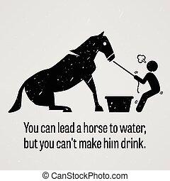 hest, forspring, frelser, vand, dåse, y, du