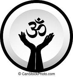hinduisme, symbol, faith-