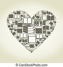 hjerte, bog