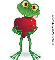 hjerte, frø