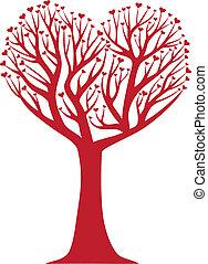 hjerte, træ