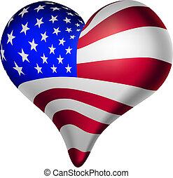 hjerter, amerikaner, forstande