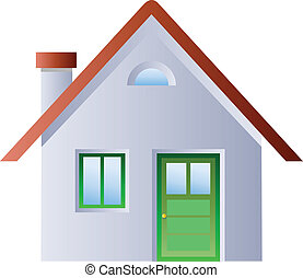 hus, illustration