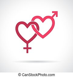 icon., køn, par