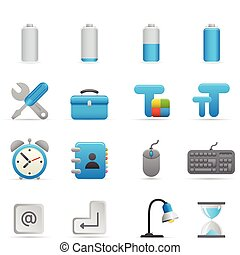 iconerne, |, 01, indigo, series, computer
