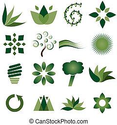 iconerne, miljøbestemte