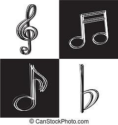 iconerne, musik
