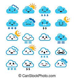 iconerne, sky, manga, cute, -, kawaii