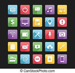 iconerne, væv, 2, sæt