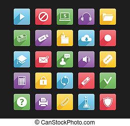 iconerne, væv, 3, sæt